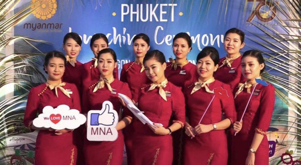 30 MAR PHUKET-YANGON INAUGURAL FLIGHT