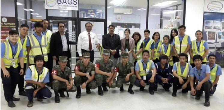 25 AUG CHARTERED FLIGHT IN UTP/UTAPAO INTERNATIONAL AIRPORT