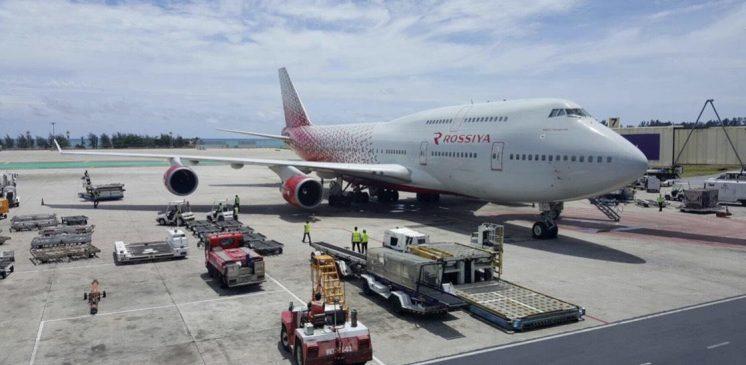 25 AUG NEW ROSSIYA AIRLINES AT HKT/ PHUKET AIRPORT